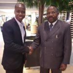 Wirtschaftsgespräch mit dem General de la Gendarmerie aus Kongo Brazzaville in Deutschland