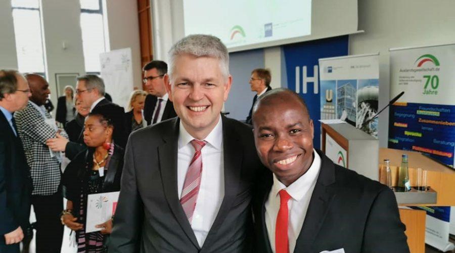 Mit Staatssekretär des Wirtschaftsministerium NRW