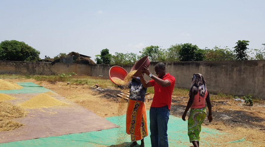 Empowerment von Landfrauen in Yamoussoukro, Elfenbeinküste