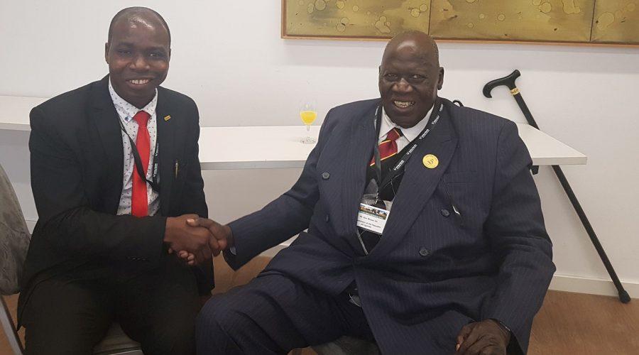 Mit Premierminister aus Ouganda