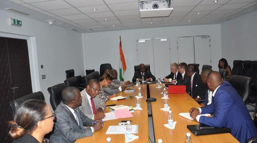 Mit dem Tourismusminister aus Elfenbeinküste