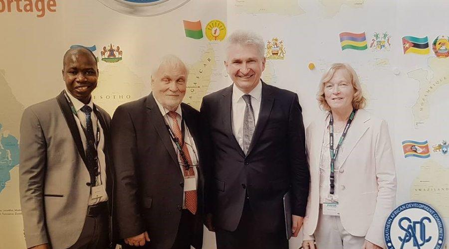 Mit dem Wirtschaftsminister NRW